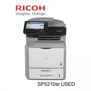 Ricoh Aficio - SP 5210SR Multifunction Printer B/W (Used)