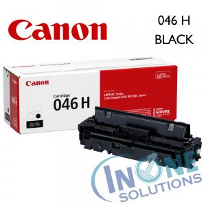Genuine Canon Toner Cartridge - 046H BLACK
