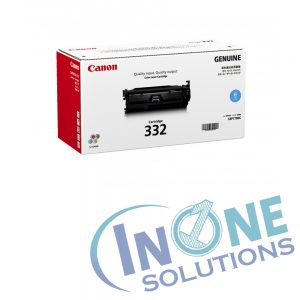 Genuine Canon Cart 332 Cyan