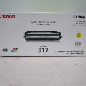 Canon Genuine Toner Cartridge CART-317Y Yellow