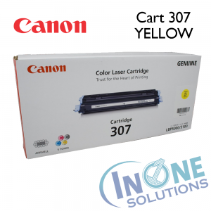 Genuine Canon Toner Cartridge - 307 YELLOW