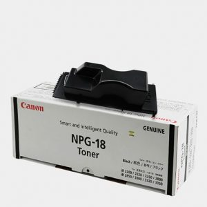 X6 Bundle Pack - NPG-18 Canon Toner Cartridge Black - Genuine