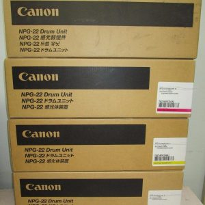 NPG-22 Canon Drum Unit Set All Colours C,M,Y,K Genuine