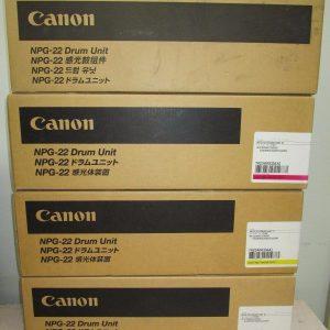 NPG-22 Canon Drum Unit Set All Colours C,M,Y,K Genuine