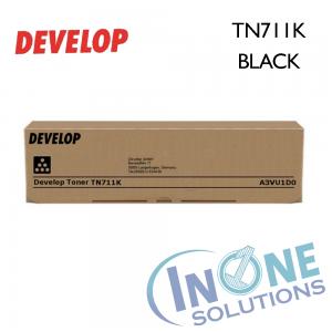 Genuine Develop Toner Cartridge - TN711K BLACK