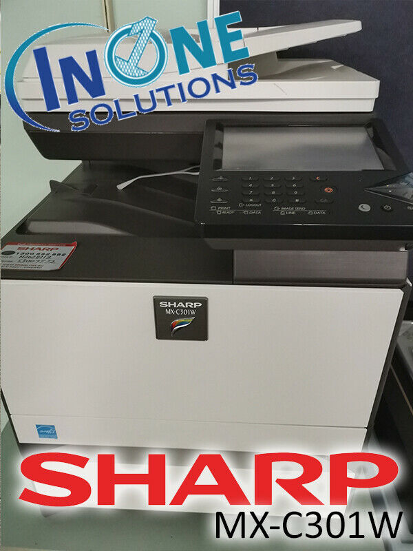 Sharp MX-C301W Multifunction Printer